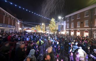 Ormskirk Gingerbread Christmas Market & Sunday Light Switch On