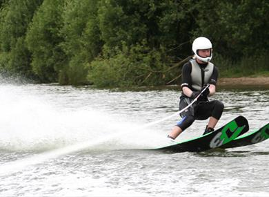 Waterskiing, courtesy of a&r photography