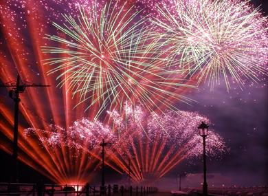 World Fireworks Championships - Blackpool