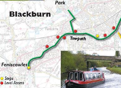 Blackburn to Rishton and Great Harwood Cycle Route