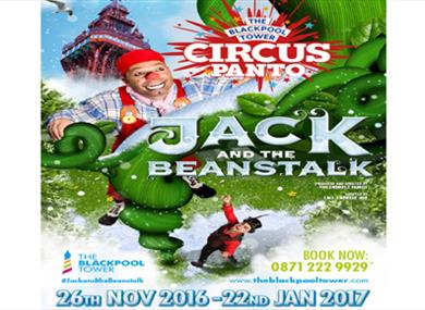 The Blackpool Tower Pantomime – Jack and the Beanstalk