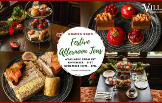 Festive Afternoon Teas at The Villa