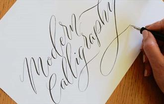 Beginners Modern Calligraphy Workshop with Mellor & Rose