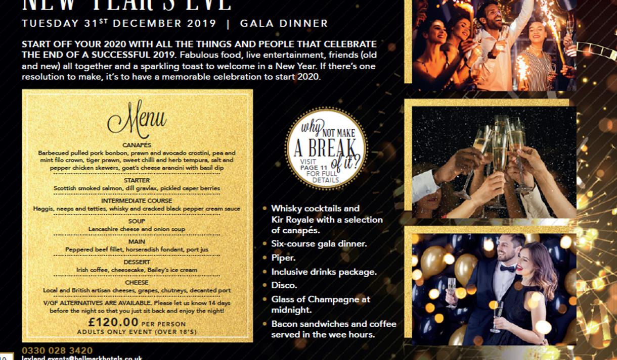 New Years Eve Gala Dinner