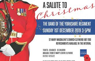 Salute to Christmas The Band of the Yorkshire Regiment