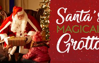 Santa's Magical Grotto at Bay View Garden Centre