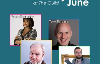 Comedy at The Guild: June
