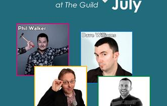 Comedy At The Guild July